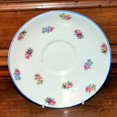 Colclough Art Deco Saucers