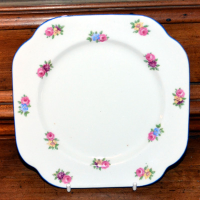 Colclough Art Deco Square Side Plates