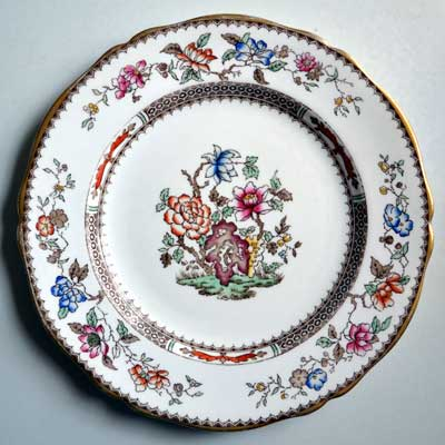 Copeland Spode Chinese Rose Dinner Plates