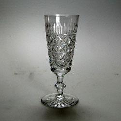 Edinburgh Crystal Royal Scott Pattern Tall Champagne Flute