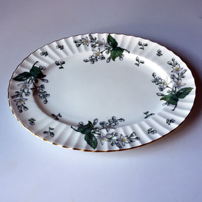 Royal Worcester Valencia oval serving platter